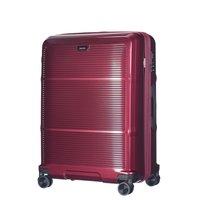 Moderní cestovní kufry VIENNA - tmavě červené