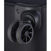 Moderní cestovní kufry OSLO - černé