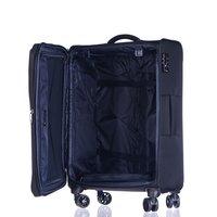 Moderní cestovní kufry BERLIN - černé