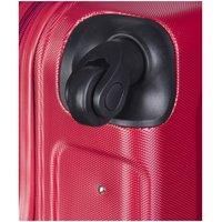 Moderní cestovní kufry IBIZA - červené
