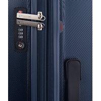 Moderní cestovní kufry LONDON - modré
