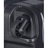 Moderní cestovní kufry MADAGASKAR - černé