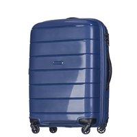Moderní cestovní kufry MADAGASKAR - tmavě modré