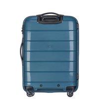 Moderní cestovní kufry MADAGASKAR - tyrkysové