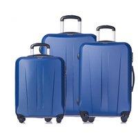 Moderní cestovní kufry PARIS - světle modré