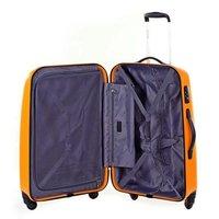 Moderní cestovní kufry VOYAGER - oranžové