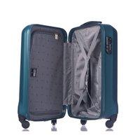 Moderní cestovní kufry PARIS - tyrkysové
