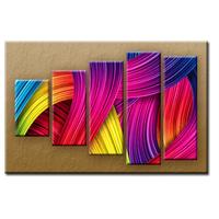 PĚTIDÍLNÝ OBRAZ na plátně BARVY - vzor 14
