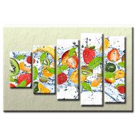 PĚTIDÍLNÝ OBRAZ na plátně FRUIT - vzor 38