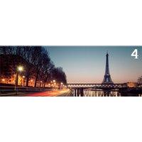 Obraz na plátně PANORAMA PARIS -  vzor 4