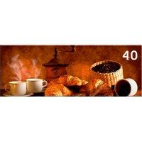 Obraz na plátně PANORAMA COFFEE -  vzor 40