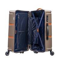 Moderní cestovní kufry OXFORD - hnědé