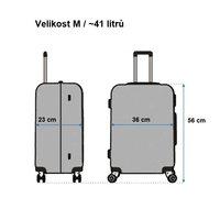 Cestovní kufry BLUE BUTTERFLY