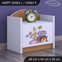 Dětský noční stolek SAFARI - TYP 3