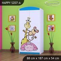 Dětská skříň SAFARI - TYP 7B