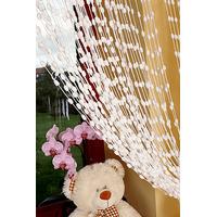 Dětská záclona - bílá