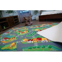 Dětský koberec VESNIČKA soft