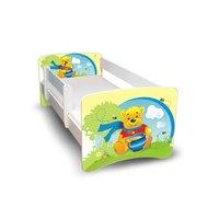 Dětská postel 160x70 cm - MEDVÍDEK S MEDEM II.