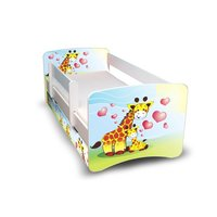 Dětská postel se šuplíkem 160x70 cm - ŽIRAFKY II.
