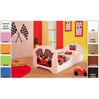 Dětská postel pro DVA (s výsuvným lůžkem) 160x80 cm - FERRARI