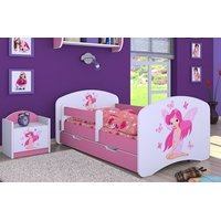 Dětská postel se šuplíkem 180x90cm VÍLA A MOTÝLCI