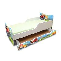 Dětská postel se šuplíkem - Hasič