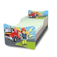 Dětská postel 180x90 cm - HASIČ
