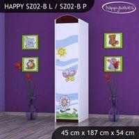 Dětská skříň - TYP 2B