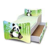 Dětská postel se šuplíkem - Panda