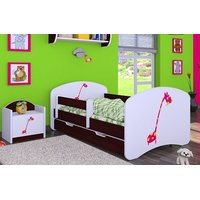 Dětská postel se šuplíkem 160x80cm ŽIRAFKA