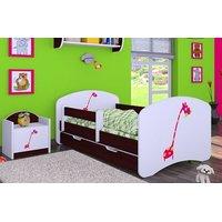 Dětská postel se šuplíkem 180x90cm ŽIRAFKA