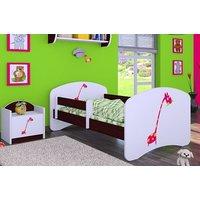 Dětská postel bez šuplíku 180x90cm ŽIRAFKA
