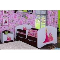 Dětská postel se šuplíkem 180x90cm PRINCEZNA A HRAD