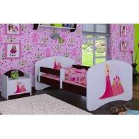 Dětská postel bez šuplíku 160x80cm PRINCEZNA A HRAD