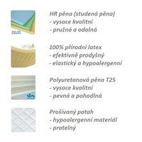 Dětská matrace SPECIAL 160x80x14 cm - pěna/latex
