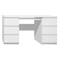 Psací stůl - CITY TYP B - bílá