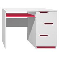 Psací stůl - MODERN TYP A - červená