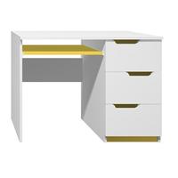 Psací stůl - MODERN TYP A - žlutá