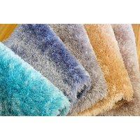 Kusový koberec Shaggy MAX mussy - tyrkysový