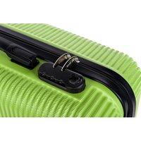 Cestovní kufry GENEVA - zelené