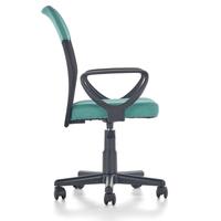 Dětská otočná židle TIMMY tyrkysovočerná