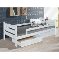 Dětská postel z MASIVU 200x90cm SE ŠUPLÍKY - MARY