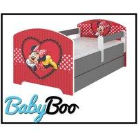 Dětská postel Disney - zamilovaná MINNIE 140x70 cm