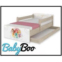 Dětská postel MAX se šuplíkem Disney - PRINCEZNY 160x80 cm