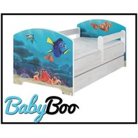 Dětská postel se šuplíkem Disney - HLEDÁ SE NEMO 160x80 cm