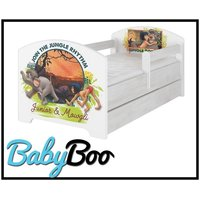 Dětská postel bez šuplíku Disney - KNIHA DŽUNGLÍ 160x80 cm