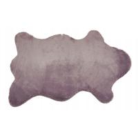Kusový koberec MALMO 60x90 cm - magnoliový - imitace králičí kožešiny