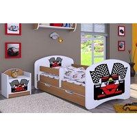 Dětská postel se šuplíkem 140x70cm FERRARI