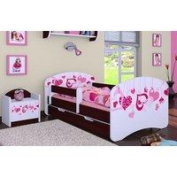 Dětská postel se šuplíkem 140x70cm FALL IN LOVE