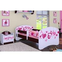 Dětská postel bez šuplíku 140x70cm FALL IN LOVE